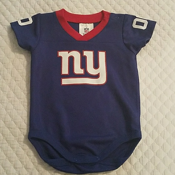2a8476ed ... new york giants infant apparel NFL Team Apparel One Pieces ...